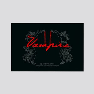 Vampire Blood Dance Rectangle Magnet