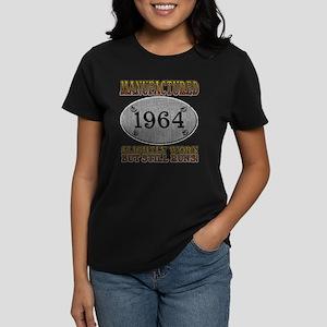 Manufactured 1964 Women's Dark T-Shirt