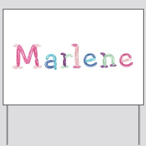 Marlene Princess Balloons Yard Sign
