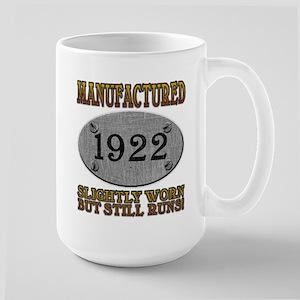 Manufactured 1922 Large Mug