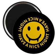 "Nice Night Vampire 2.25"" Magnet (100 pack)"