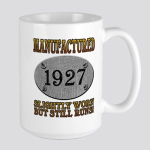 Manufactured 1927 Large Mug
