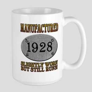 Manufactured 1928 Large Mug