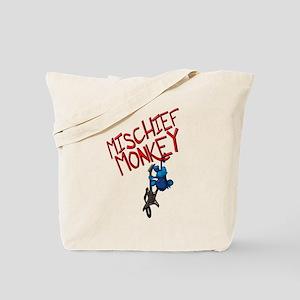 Mischief Monkey Tote Bag