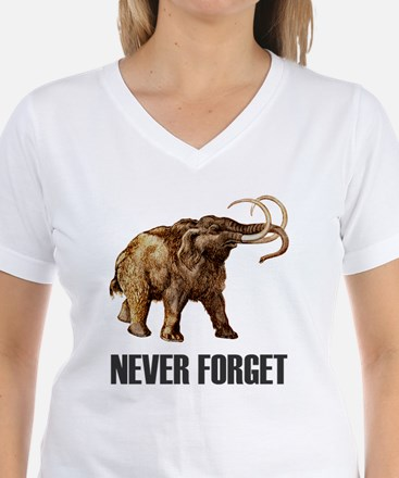 Never Forget Woolly Mammoth Shirt