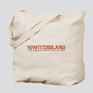 i am Switzwerland Tote Bag