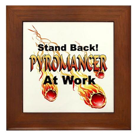 Pyromancer Framed Tile