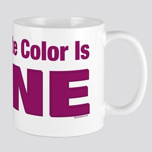 Favorite Color is Wine Mug