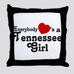 Everybody Hearts a Tennessee Throw Pillow