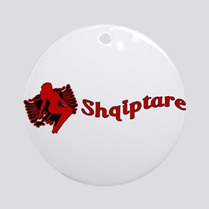 Une Jam Shqiptare Ornament (Round)
