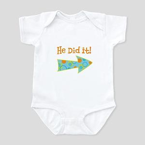 HeDidIt Infant Bodysuit
