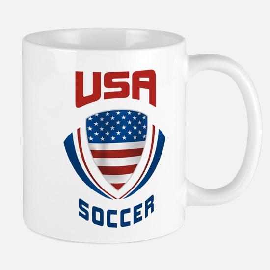 Soccer Crest USA Mug