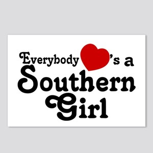 Everybody Hearts a Southern G Postcards (Package o