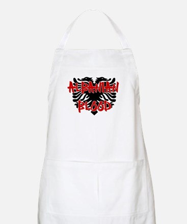 Albanian Blood BBQ Apron