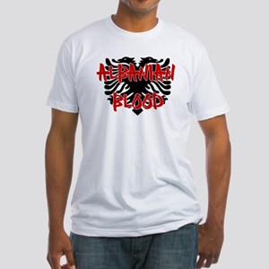 Albanian Blood Fitted T-Shirt