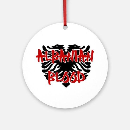Albanian Blood Ornament (Round)