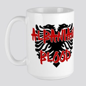 Albanian Blood Large Mug
