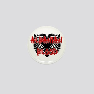 Albanian Blood Mini Button