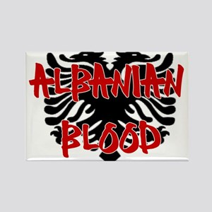 Albanian Blood Rectangle Magnet