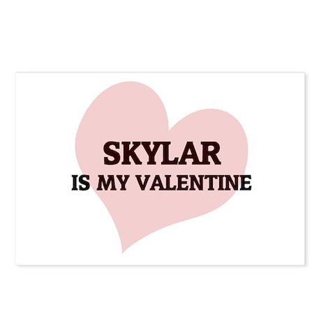Skylar Is My Valentine Postcards (Package of 8)