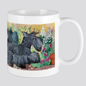 Scottie Squirrel Patrol Mug Mugs