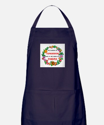 SIMPLE IS BEST Apron (dark)