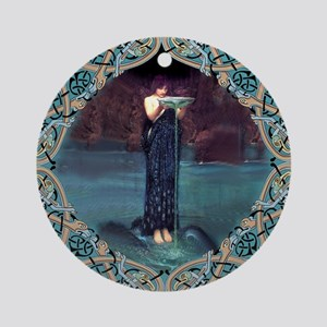 Circe Round Ornament