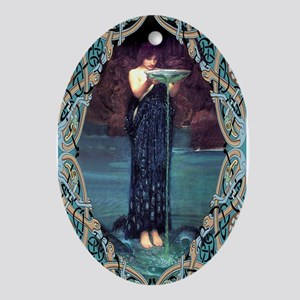 Circe Oval Ornament