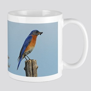 Bluebird Family Mug