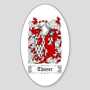 Thayer Sticker (Oval)