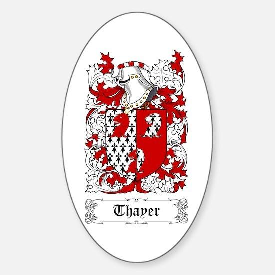 Thayer Sticker (Oval)