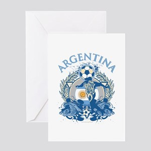 Argentina Soccer Greeting Card
