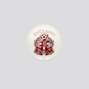 England Soccer Mini Button