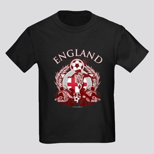 England Soccer Kids Dark T-Shirt