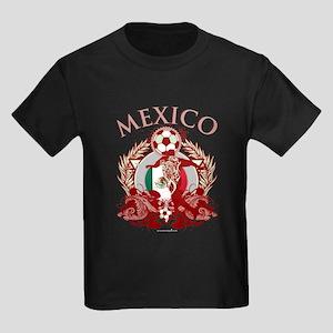 Mexico Soccer Kids Dark T-Shirt