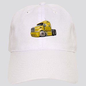 Peterbilt 587 Yellow Truck Cap