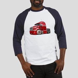 Peterbilt 587 Red Truck Baseball Jersey