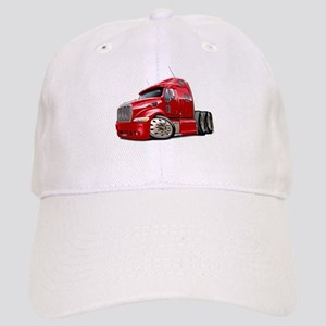 Peterbilt 587 Red Truck Cap