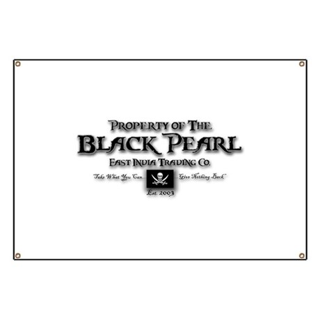 Black Pearl Banner