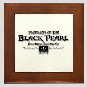 Black Pearl Framed Tile