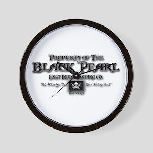 Black Pearl Wall Clock
