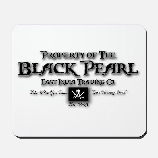 Black Pearl Mousepad