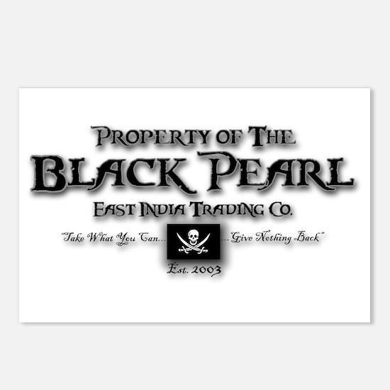 Black Pearl Postcards (Package of 8)