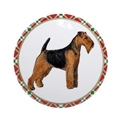 Welsh Terrier Ornament (Round)