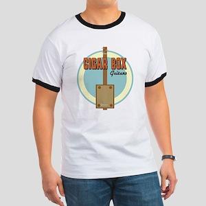 Cigar Box Guitar Ringer T-Shirt