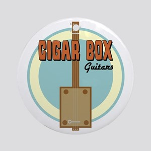 Cigar Box Guitar Ornament (Round)