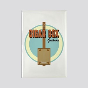 Cigar Box Guitar Rectangle Magnet