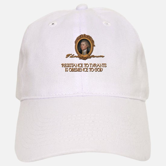 Resistance to Tyrants- Jeffer Baseball Baseball Cap