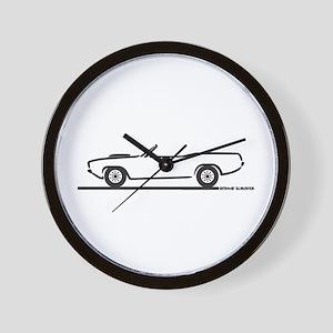 1970-74 Cuda Convertible Wall Clock