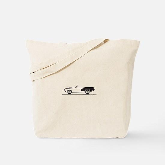 1970-74 Hemi Cuda Convertible Tote Bag